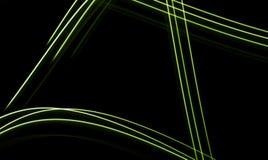 Fond au néon de fibres Images libres de droits