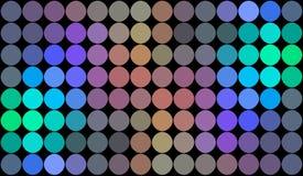Fond au néon multicolore olographe de mosaïque illustration libre de droits