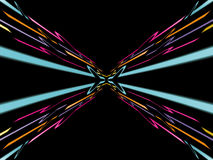 Fond au néon abstrait Image libre de droits