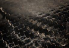 Fond authentique réel de textile de fibre de carbone Photo stock