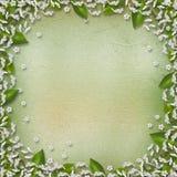 Fond avec bouquet floral de trame le beau Image libre de droits