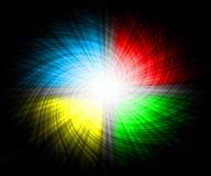 Fond avec briller coloré Image libre de droits