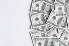Fond avec de l'argent Image libre de droits