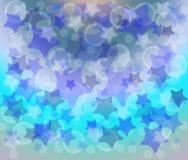Fond avec des étoiles Photographie stock