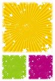 Fond avec des étoiles Image stock
