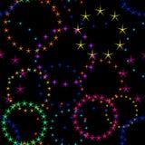 Fond avec des étoiles illustration stock