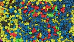 Fond avec des bonbons Photo libre de droits