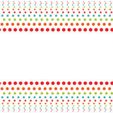 Fond avec des cercles Image stock