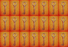 Fond avec des clés photo libre de droits