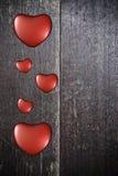 Fond avec des coeurs la Saint-Valentin Photos stock