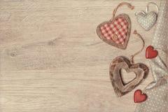 Fond avec des coeurs pour St Valentine, le jour de mère ou Farthe Photo stock