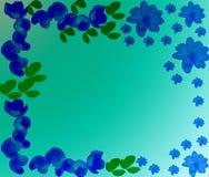 Fond avec des couleurs bleu-foncé Photos libres de droits