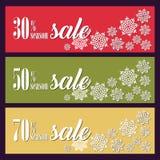 Fond avec des décorations de Noël pour des bannières, la publicité, tract, cartes, invitation et ainsi de suite Photo stock