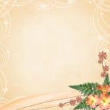 Fond avec des fleurs Illustration Libre de Droits