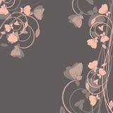 Fond avec des fleurs. Photographie stock libre de droits