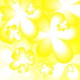Fond avec des fleurs Image libre de droits