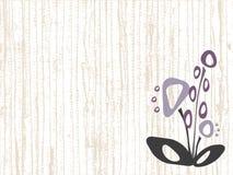 Fond avec des fleurs Image stock