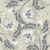 Fond avec des fleurs illustration de vecteur