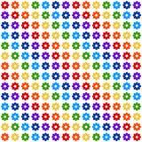 Fond avec des fleurs (grandes) Photo stock