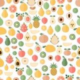 Fond avec des fruits frais illustration libre de droits