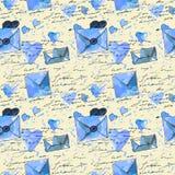 Fond avec des lettres Photo stock