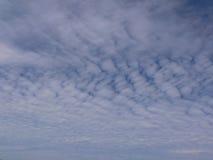 Fond avec des nuages Photos libres de droits
