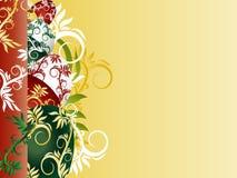 Fond avec des oeufs de pâques de colorfui Images libres de droits