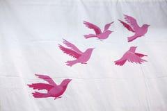 Fond avec des oiseaux Image stock