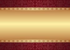 Fond avec des ornements Image stock
