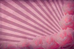 Fond avec des roses Image libre de droits