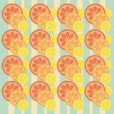 Fond avec du citron Photographie stock libre de droits