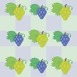 Fond avec du raisin Photo libre de droits