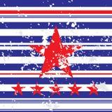 Fond avec l'étoile rouge Photographie stock libre de droits