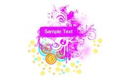 Fond avec l'espace pour la conception des textes Image stock