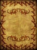Fond avec la conception brûlée d'astract illustration de vecteur