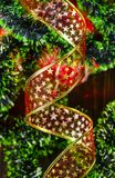 Fond avec la décoration de Noël et de nouvelle année photographie stock