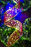 Fond avec la décoration de Noël et de nouvelle année photographie stock libre de droits