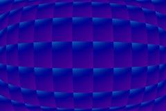 Fond avec la grille de vague Images stock