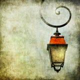 Fond avec la lanterne Photos libres de droits