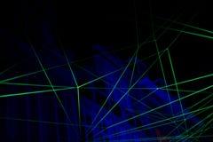 Fond avec la lumière laser Photos libres de droits