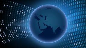 Fond avec la planète banque de vidéos