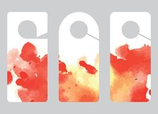 Fond avec la texture d'aquarelle jet spreadings Illustration de Vecteur