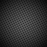 Fond avec la texture noire sans couture de carbone Photographie stock libre de droits