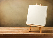 Fond avec la toile blanc Photos libres de droits