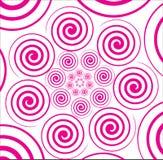 Fond avec le cercle. Vecteur. Image stock