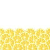Fond avec le citron Photo libre de droits