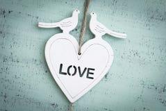 Fond avec le coeur Image stock