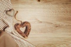 Fond avec le coeur pour St Valentine, mère ou D plus lointain Photos libres de droits