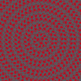 Fond avec le modèle de fleurs de cercle coloré Photo libre de droits