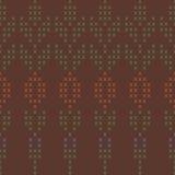 Fond avec le modèle de tricotage abstrait illustration de vecteur